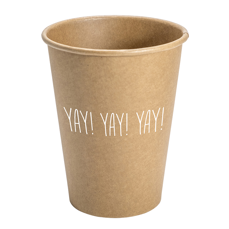 Paper Cup Set - Kraft - Yay!