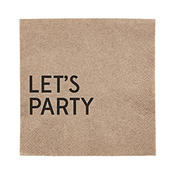 Beverage Napkin - Let's Party