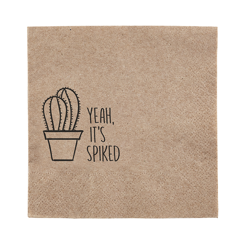 Beverage Napkin - Yeah, it's spiked