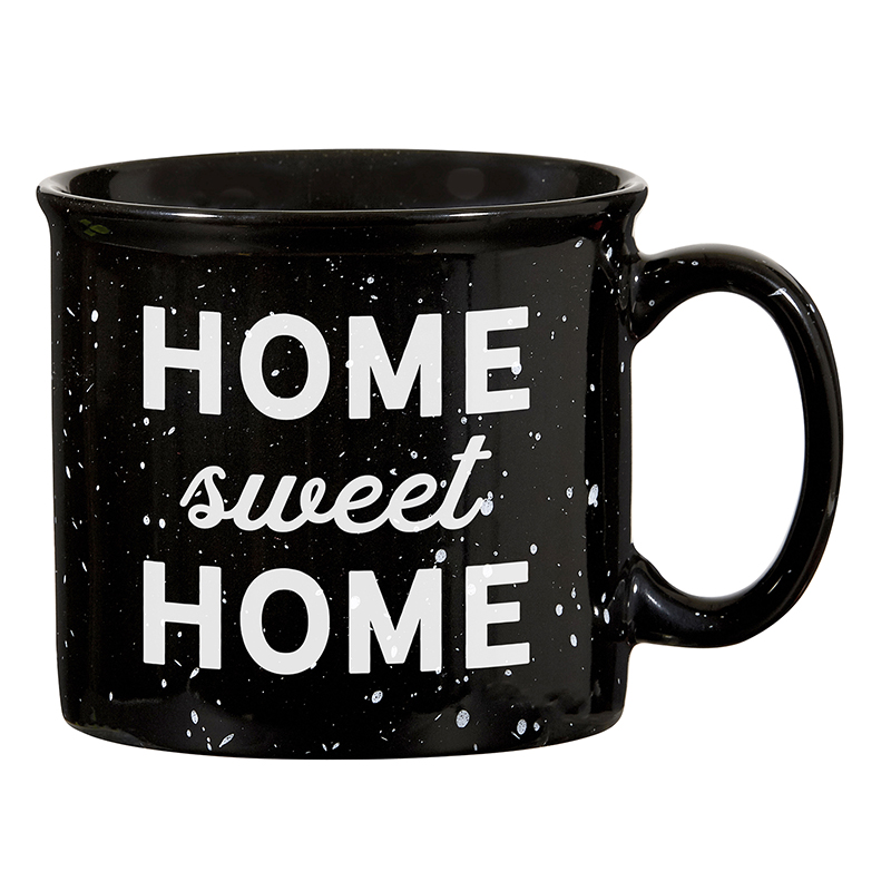 Campfire Mug - Black - Home Sweet Home