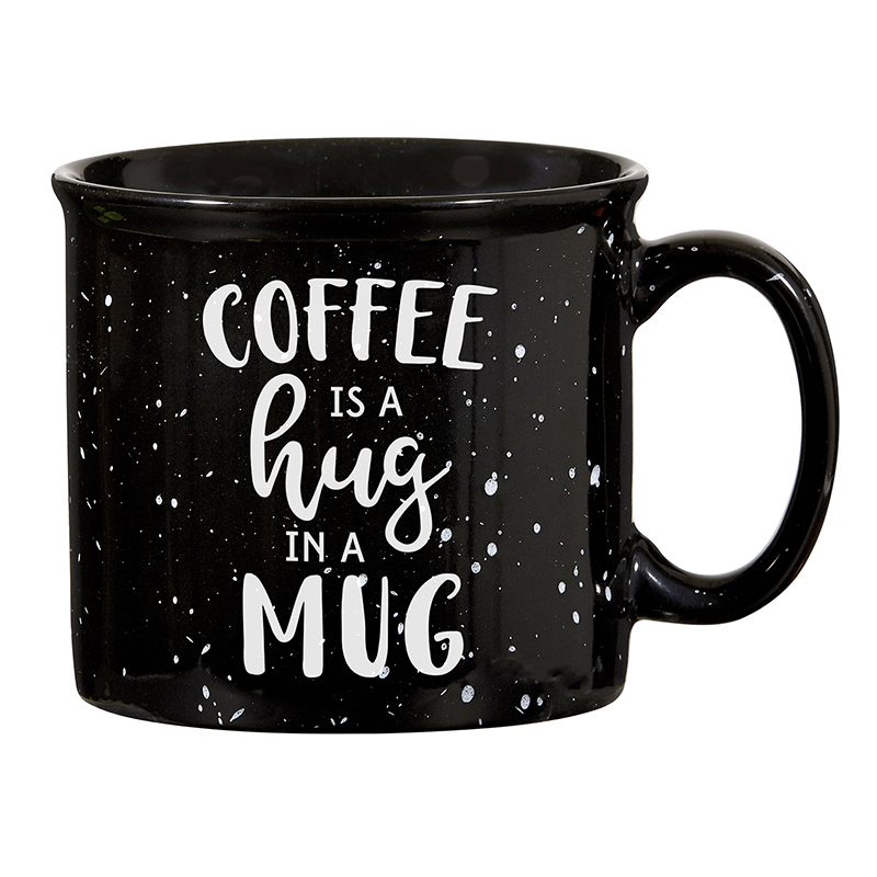 Campfire Mug - Black - Hug in a Mug