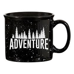 Campfire Mug - Black - Adventure