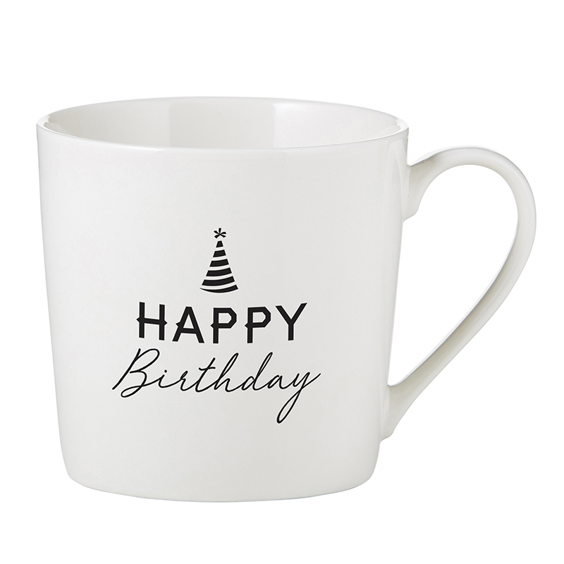 Café Mug - Happy Birthday
