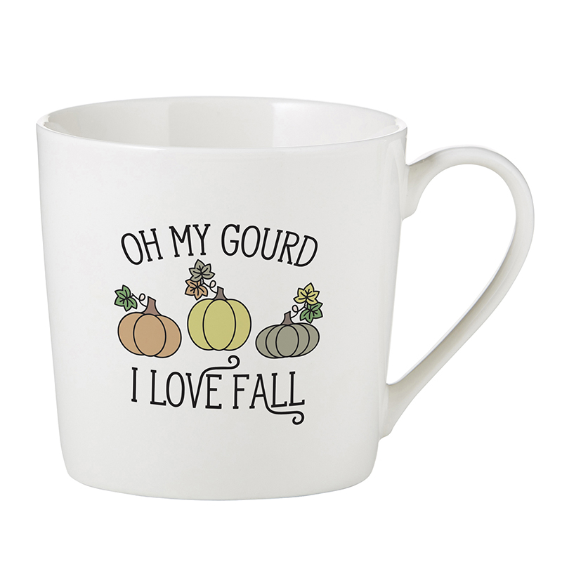 Café Mug - Oh My Gourd
