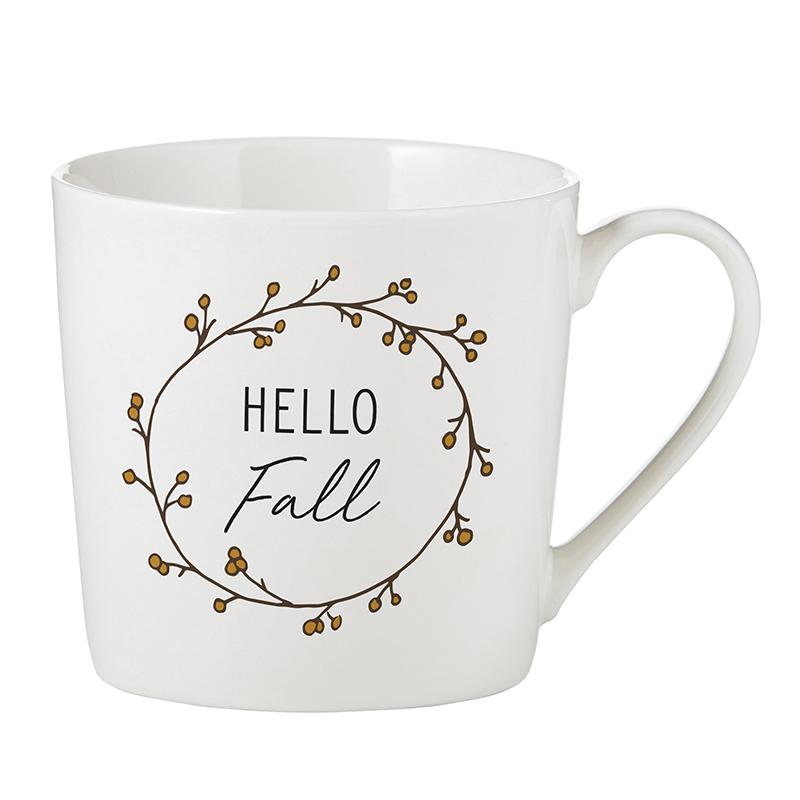 Café Mug - Hello Fall