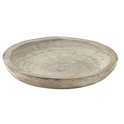 Paulownia Bowl - Medium - Grey