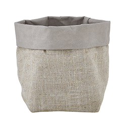 Washable Paper Holder - Small - Grey Linen