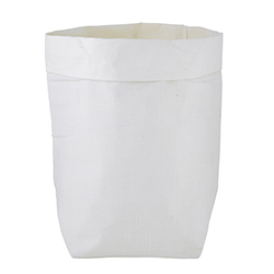 Washable Paper Holder - Large - White Linen