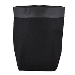 Washable Paper Holder - Large - Black Linen