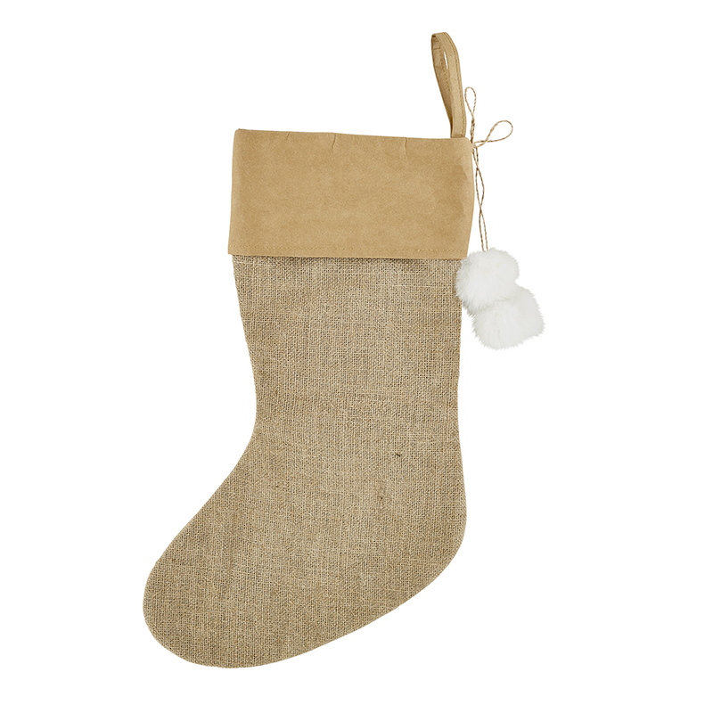 Holiday Stocking - Jute