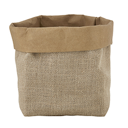 Washable Paper Holder - Medium - Jute