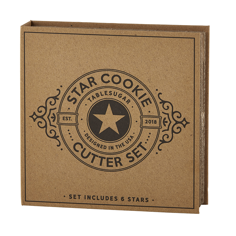 Cardboard Book Set - Star Cookie Cutters