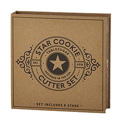 Cardboard Book Set - Star Cookie Cutters