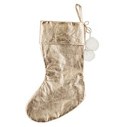 Holiday Stocking - Rose Gold