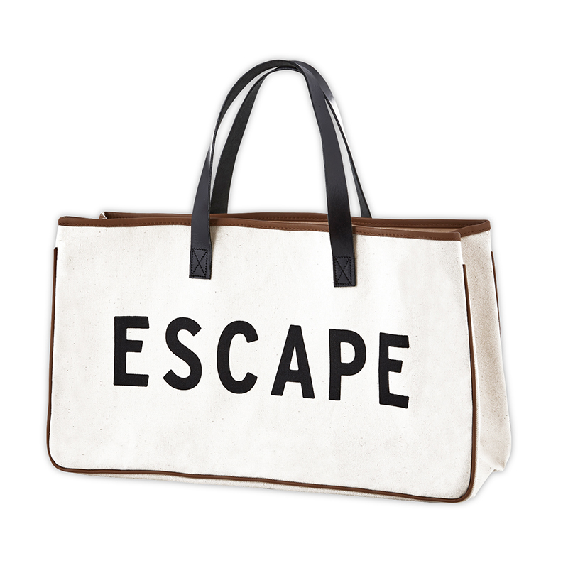 Canvas Tote - Escape