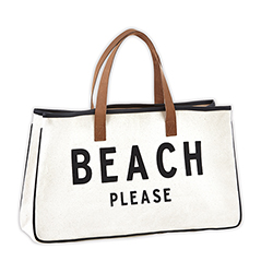 Canvas Tote - Beach Please