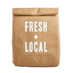Lunch Bag - Fresh + Local
