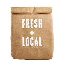 Lunch Bag - Fresh + Local