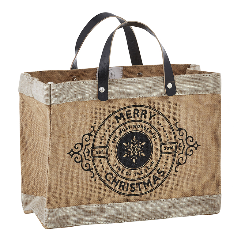 Farmer's Market Mini Tote - Merry Christmas