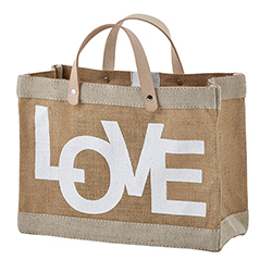 Farmer's Market Mini Tote - Love