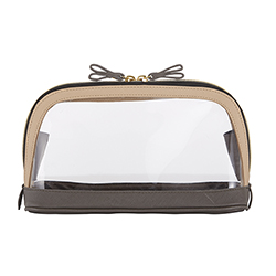 Bow Travel Pouch - Charcoal