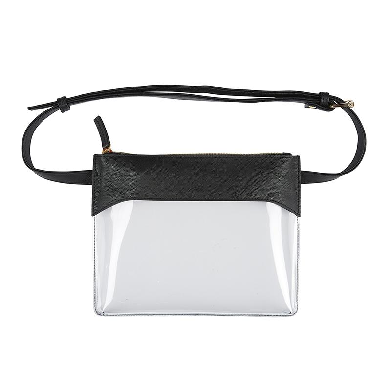 Belt Bag - Black/Clear