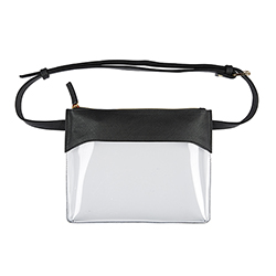 Belt Bag - Black/Clear