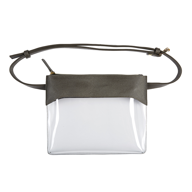 Belt Bag - Charcoal/Clear