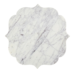 Marble Board - White/Lavender