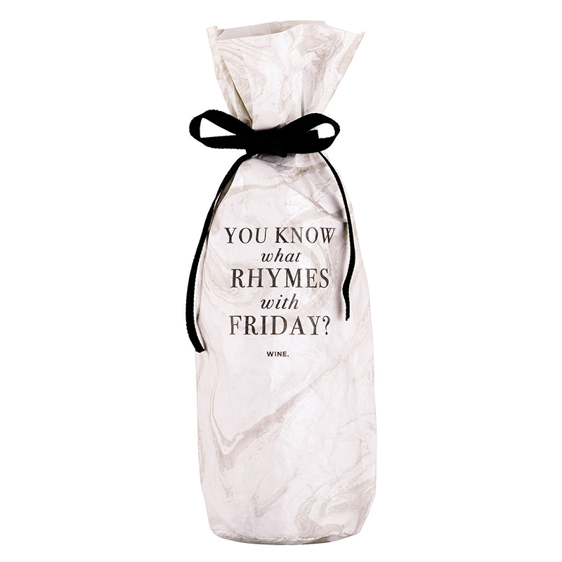 Tyvek Wine Bag - Friday