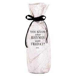 Tyvek Wine Bag - Friday