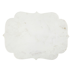 Marble Board - White Arabesque
