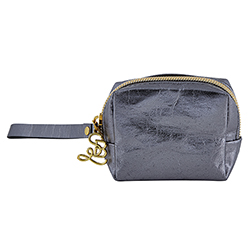 Mini Pouch - Gun Metal