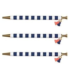 Tassel Pens - Navy Cabana