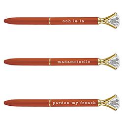 Gem Pens - Orange