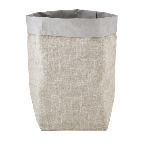 Washable Paper Holder - Large - Grey Linen