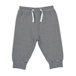 Pants - Stripe Navy/White, 6-12 months