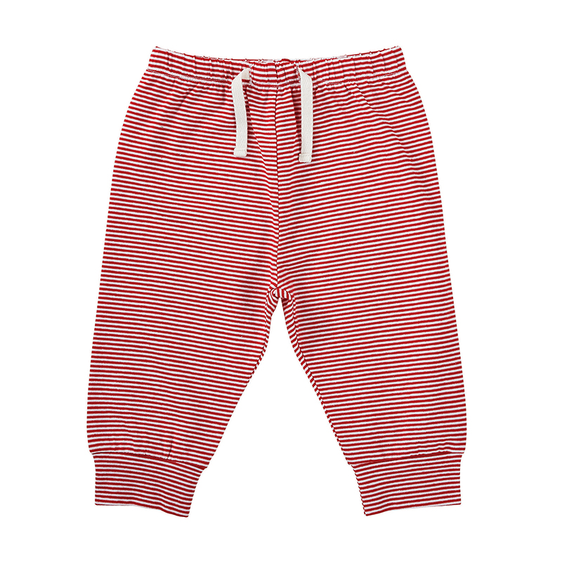 Pants - Stripe Red/White, 6-12 months