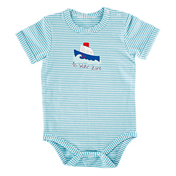 Snapshirt - Boat, 3-6 months