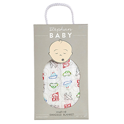 Swaddle Blanket - Transportation