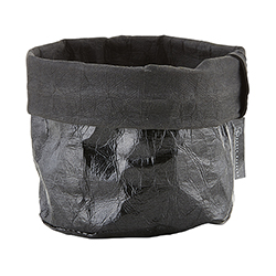 Washable Paper Holder - Small - Metallic Black
