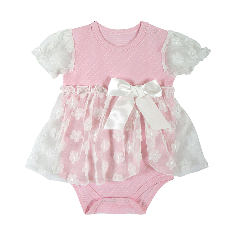 Dress - Vintage/Shabby Rose, 6-12 months