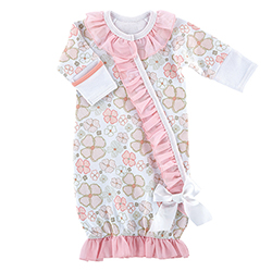 Gown - Playful Posies, Newborn