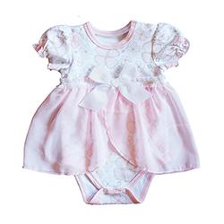 Dress - Playful Posies, Newborn