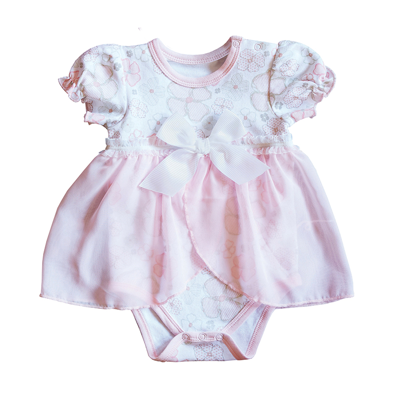 Dress - Playful Posies, 3-6 months