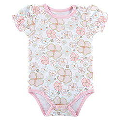 Snapshirt - Playful Posies, 3-6 months