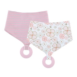 Chewbie Bandana Bib Set - Playful Posies
