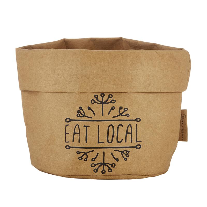Washable Paper Holder - Large - Eat Local