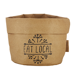 Washable Paper Holder - Large - Eat Local