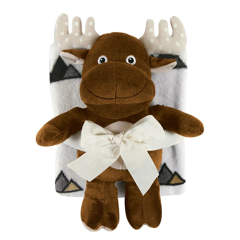 Blanket Toy Set - Moose